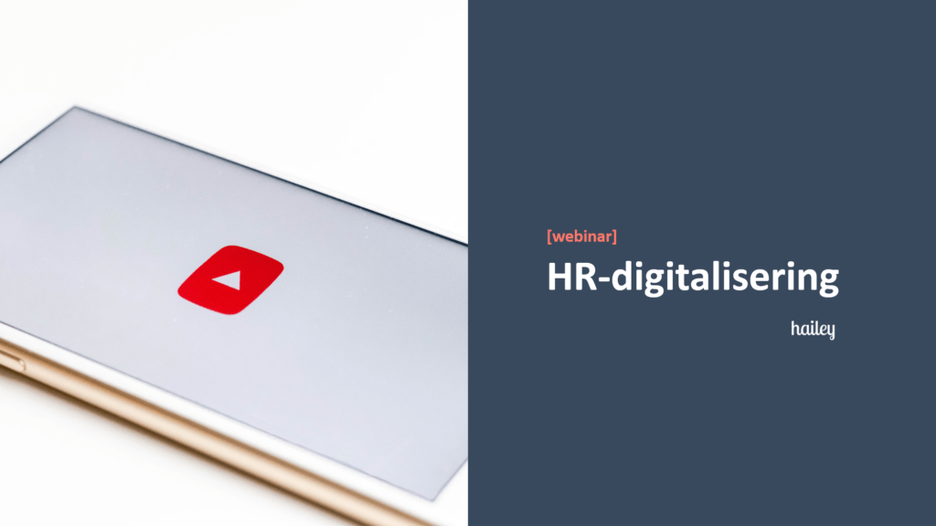 Webinar HR-digitalisering